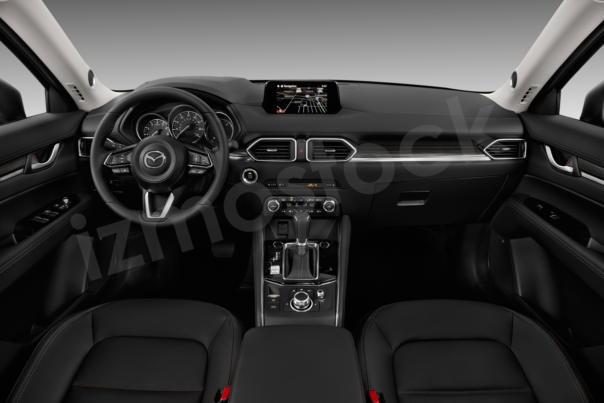 Mazda 17cx5gtod2a Dashboard The 2017 Cx 5 Interior Picture