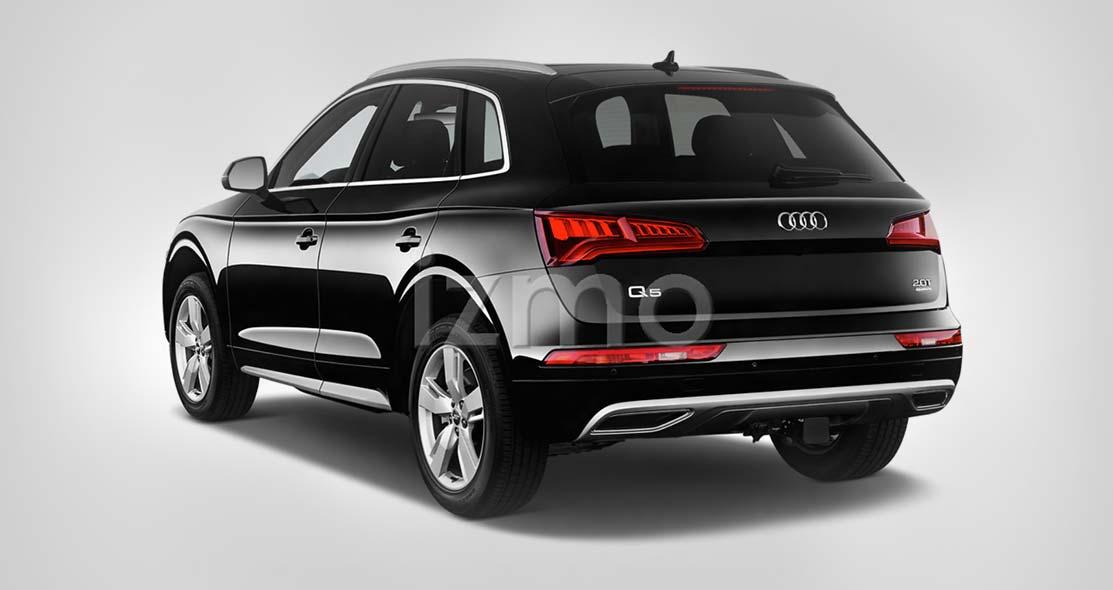 Audi Q5 Angular Rear View
