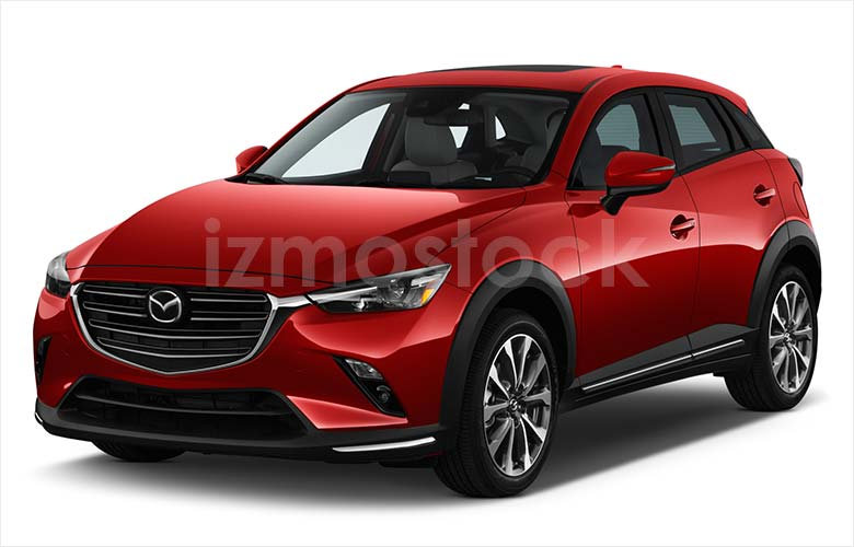 2019_MAZDA_CX-3_angularfront_view