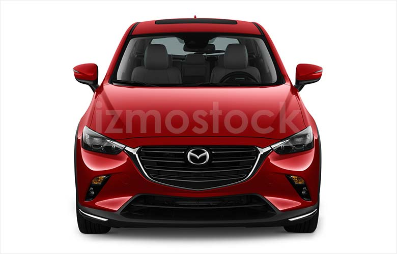 2019_MAZDA_CX-3_front_view