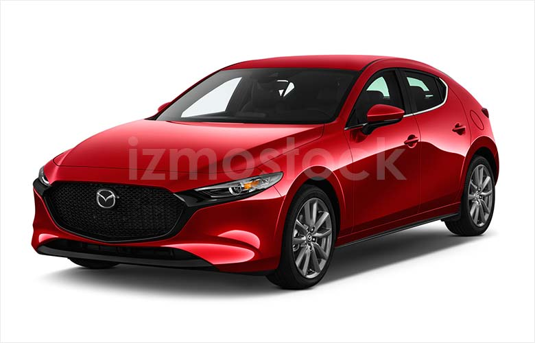 Latest_2019_Mazda_3_HatchBack_angularfront