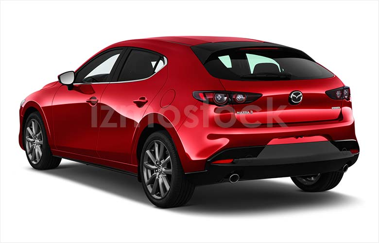 Latest_2019_Mazda_3_HatchBack_angularrear