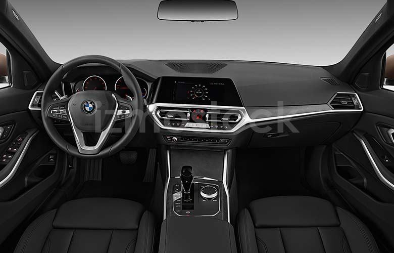 2019_BMW_330I_CAR_STOCK_PHOTOGRAPHY_Interior_View