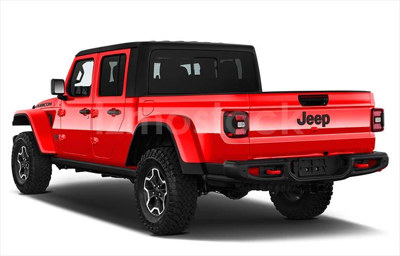 2020_Jeep_Gladiator _angular_rear