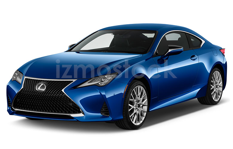 2019_LEXUS_RC350_Angular_Front_View