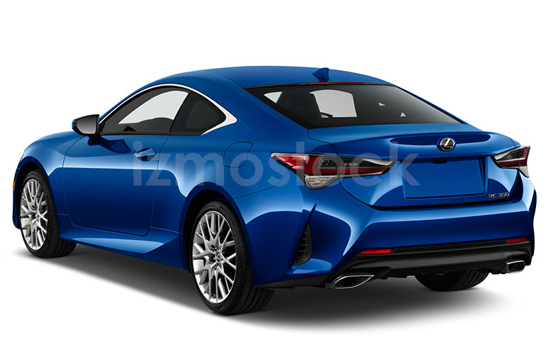 2019_LEXUS_RC350_Angular_Rear
