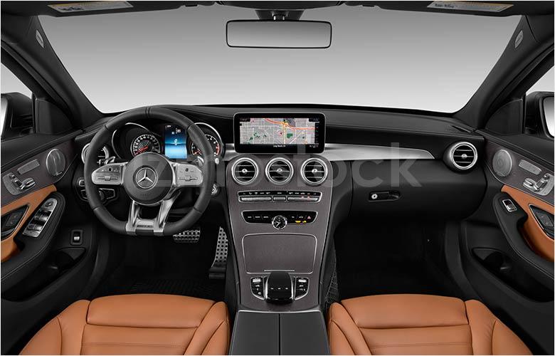 2019_Mercedes_C43_AMG_Interior_View