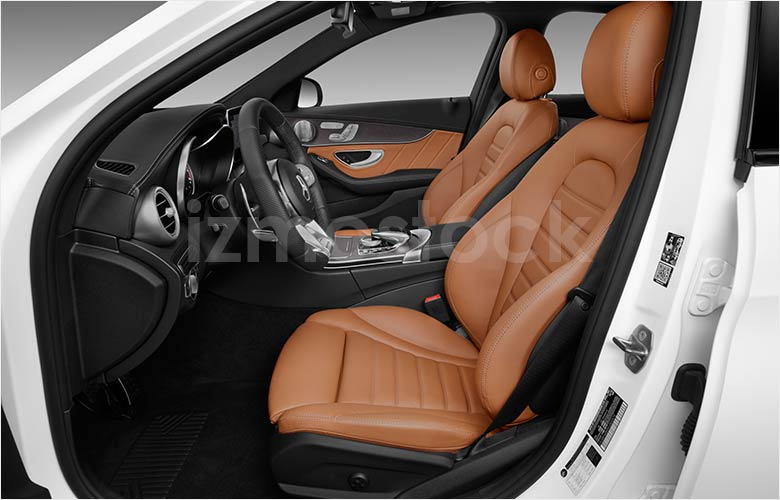 2019_Mercedes_C43_AMG_Front_Seats