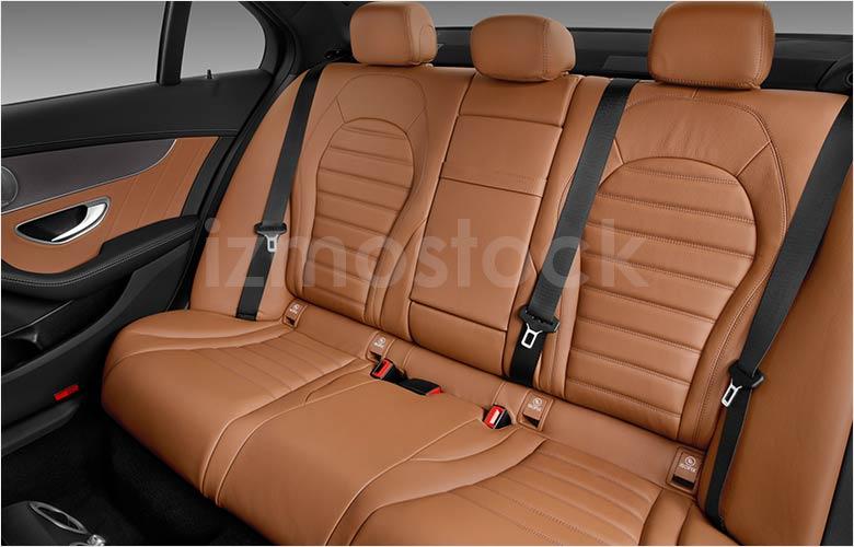 2019_Mercedes_C43_AMG_Rear_Seats