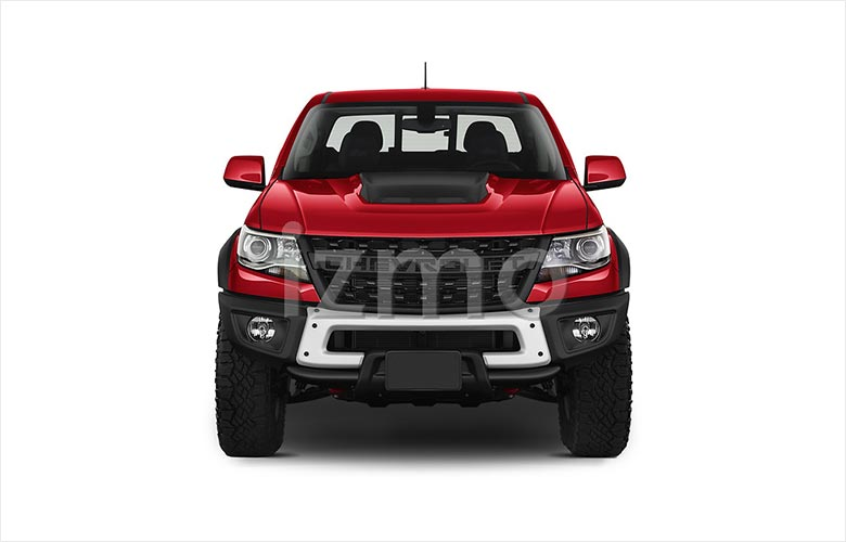 2021-chevrolet-colorado-zr2-4wd-pick-up-front-view