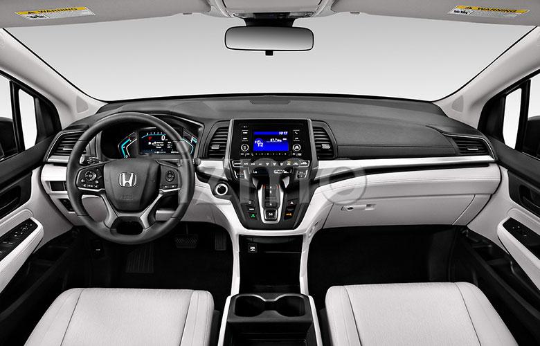 2021-honda-odyssey-lx-minivan-dashboard